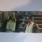 Star Wars Episode 1 Qui-Gon Jinn obi-wan  widescreen post card